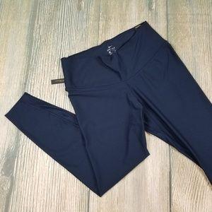 New NIKE dark blue yoga running training leggings